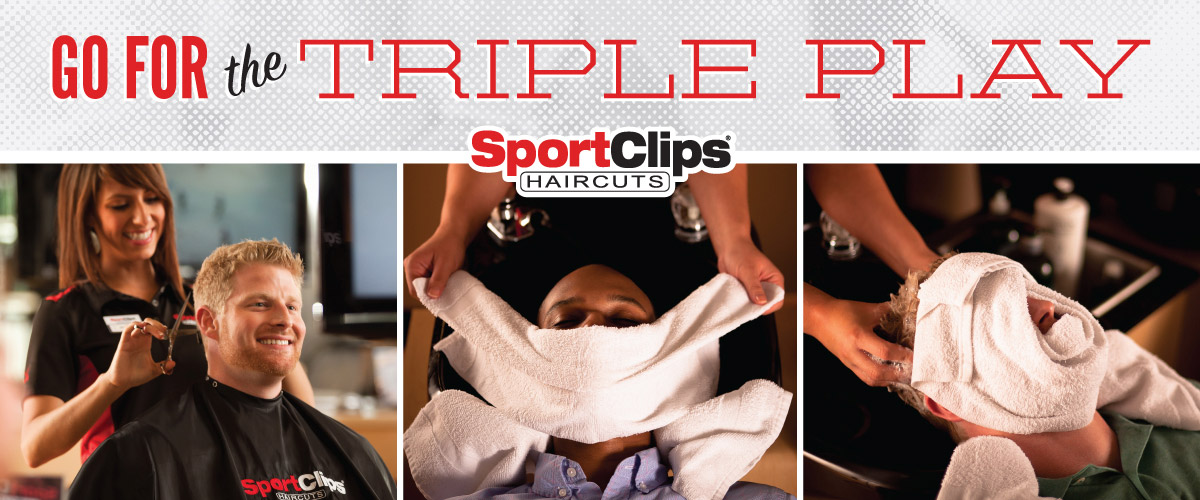 The Sport Clips Haircuts of Woodstock - Hwy 92 & Trickum  Triple Play